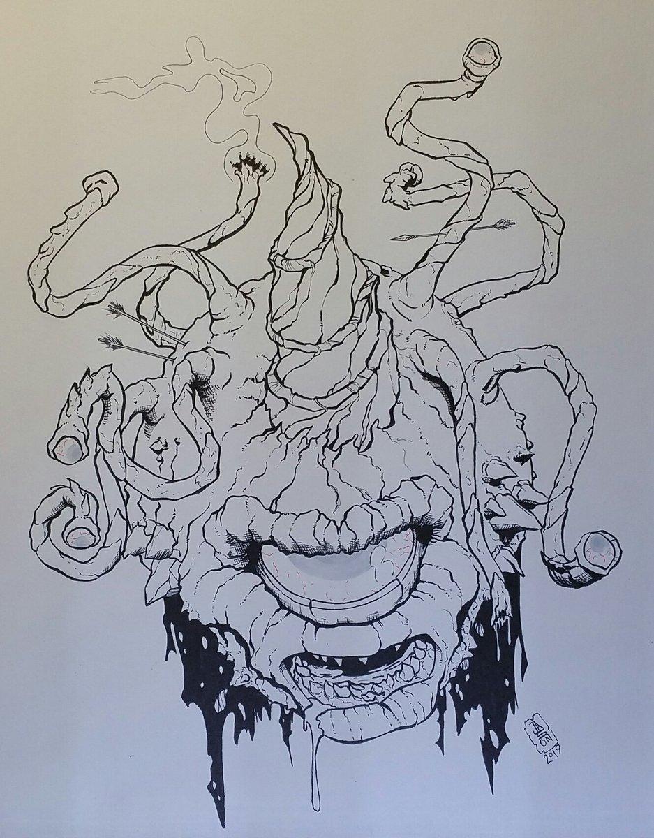 Jason Debit On Twitter Crinktober Day 4 Prompt Monster