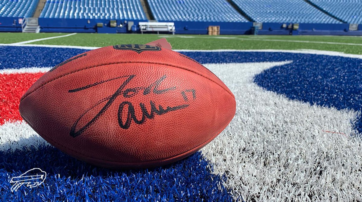 @TreWhite16 @maine_savage23 We're giving away a @JoshAllenQB signed football to celebrate 1 million followers. Follow + Retweet for your chance to win. Rules: bufbills.co/npvs4A