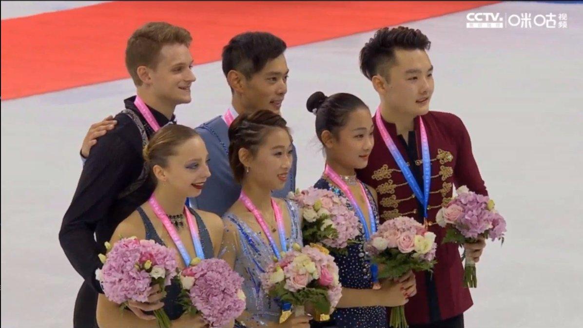 Shanghai Trophy (Invitational). 3-5 октября 2019. Шанхай (Китай) - Страница 5 EGCkmZAUwAArRhM?format=jpg&name=medium