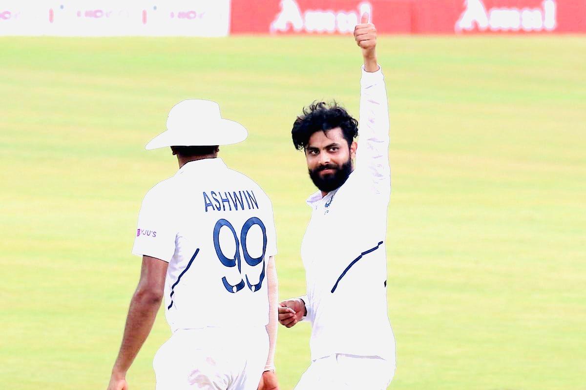 Indian spinners- Jadeja and Ashwin