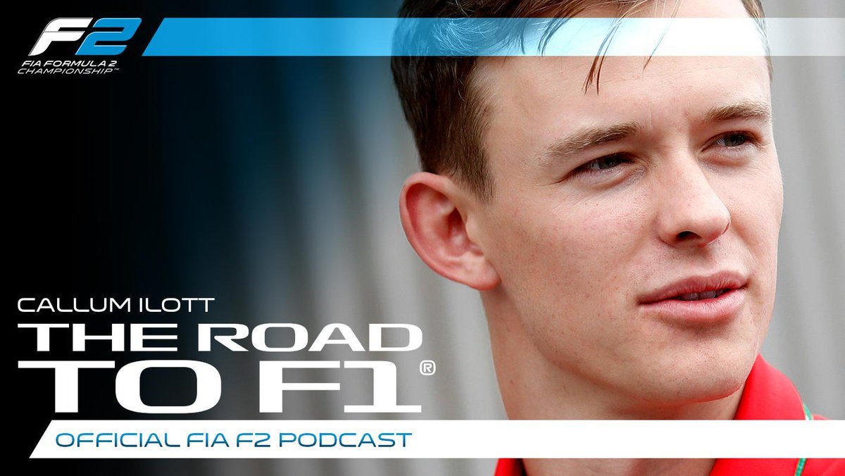 Ferrari protegé. F2 rookie. Close friend of Anthoine and JM.  Listen in to @callum_ilott's podcast appearance 🎙  Spotify 👉 http://tinyurl.com/RoadToF1-Spotify … Apple Podcasts 👉 http://tinyurl.com/RoadToF1-Apple   #F2 #RoadToF1