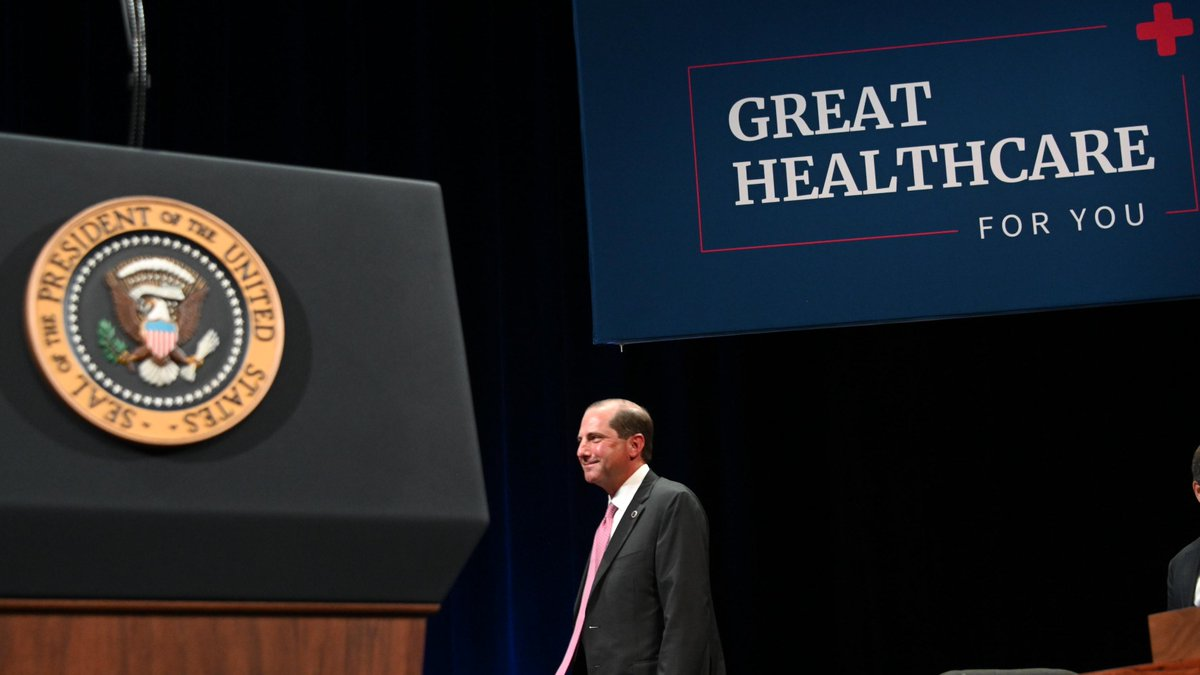 "Secretary Alex Azar on Twitter: ""60 million Americans are on Medicare or  Medicare Advantage. They like what they have, and so @POTUS is going to  protect it. Yesterday he signed an executive"