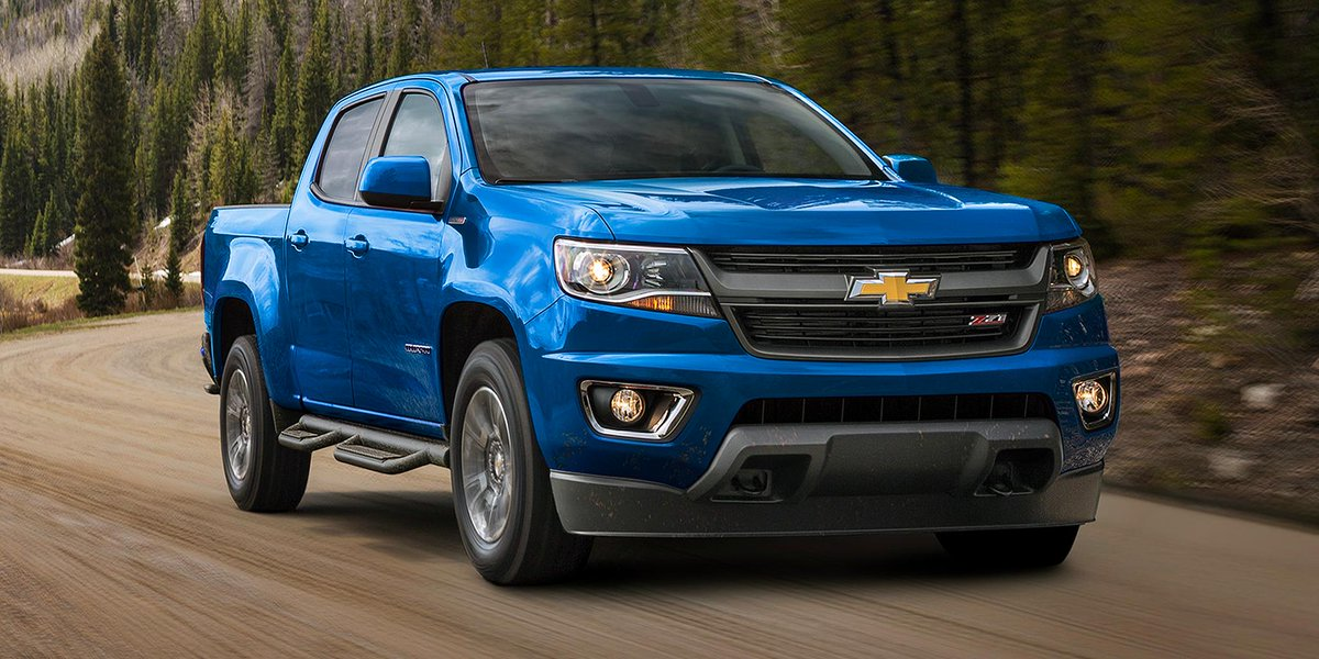 Work truck, play truck or a lot of both. #ChevyColorado