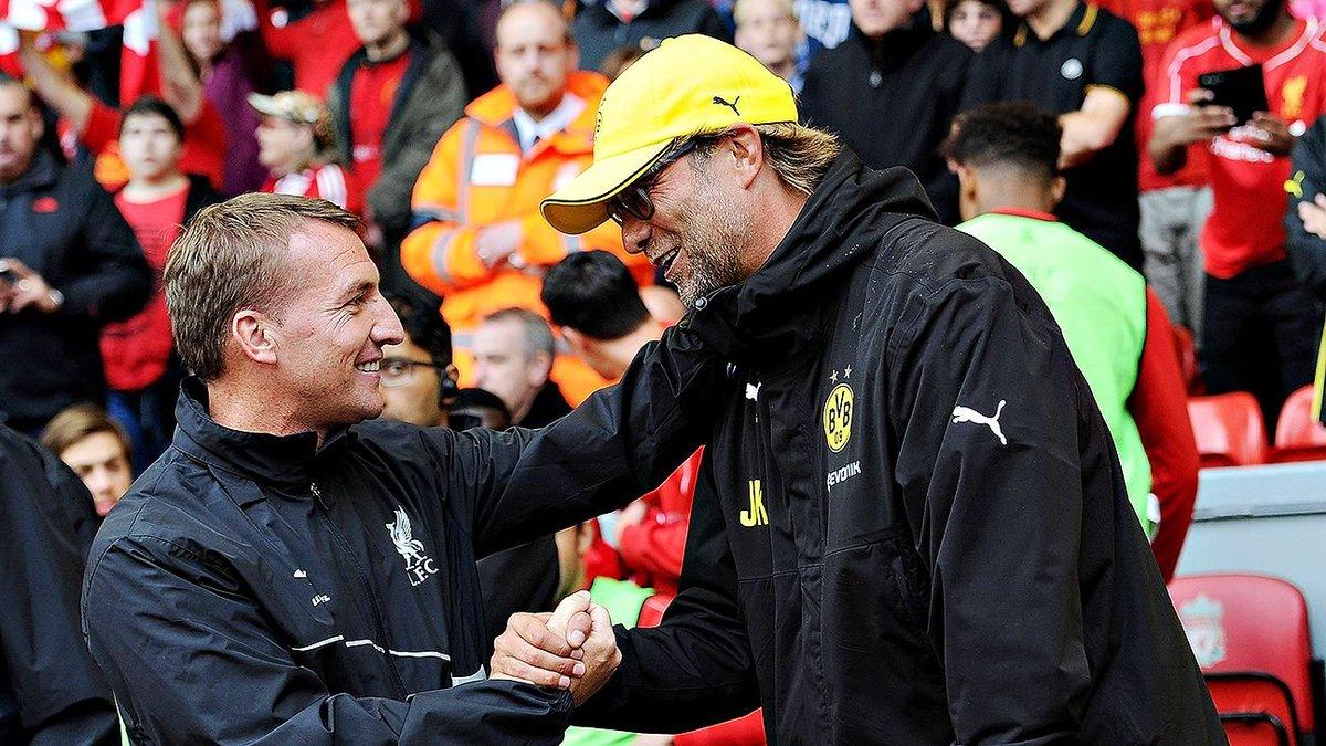 Hoy se cumplen 4 años del despido de Brendan Rodgers de Liverpool que determinaría días más tarde la llegada de Jürgen Klopp. El destino los vuelve a juntar mañana en Anfield por la Premier. Se viene un partidazo...