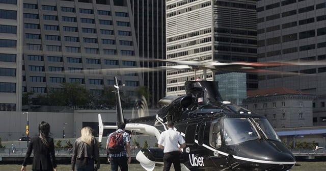 Los clientes de #uber en NY ya pueden viajar en helicóptero
