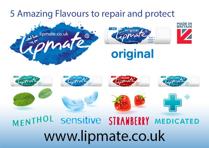 With 5 flavours of #lipbalm  to chose from, you can see which one is right for your lips with our Mixed Flavour Pack. Head to  https://www.lipmate.co.uk/buy-lipbalm-direct/  … for Free Delivery. #MadeInBritain  🇬🇧