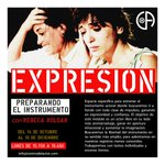 Image for the Tweet beginning: CICLO #EXPRESION con Rebeca Roldán.  Prepara
