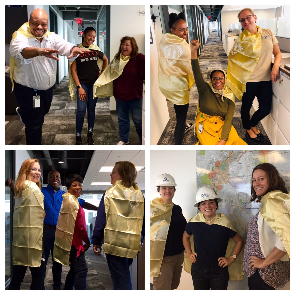Happy #CapeDayATL to all of the superhero kids in the care of @childrensatl from all of us at the Atlanta BeltLine!