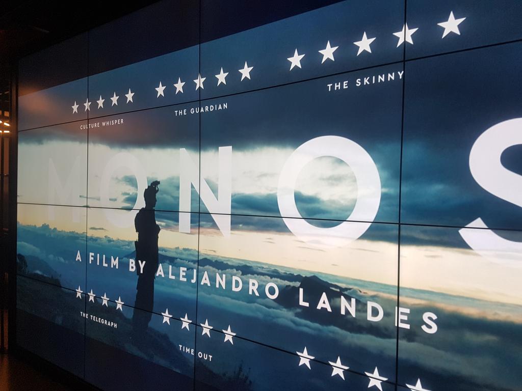Gracias a Alejandro Bernal y a todo el equipo por la amable invitación a la Premier en Londres de Monos. Película colombiana concursante en el BFI 2019. Orgullo patrio!!
