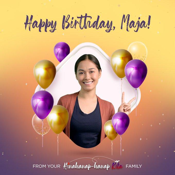 Happy Birthday, Maja Salvador!   Helen Happy Kaarawan