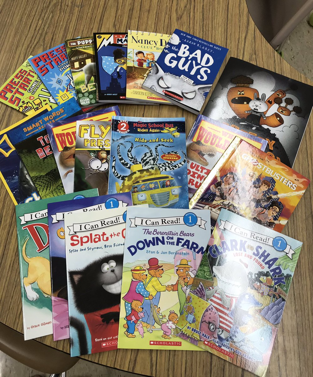 Can't wait for readers to see the new books we have for our classroom library! 📚🤩
