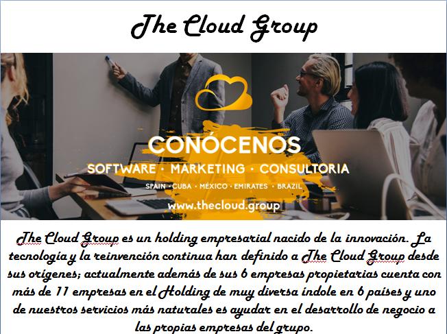 Vuélvase digital con la muy #conocida empresa #madrileña de desarrollo de software, The Cloud Group y sea parte de la tecnología #innovadora que puede llevar a su #empresa al siguiente nivel.