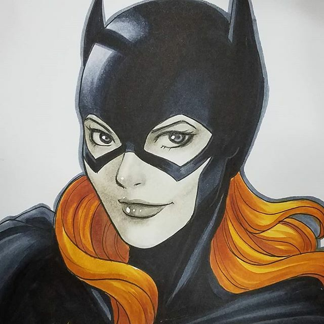 #batgirl commission at #nycc #newyorkcomiccon #nycc2019 ift.tt/2pHNkUY