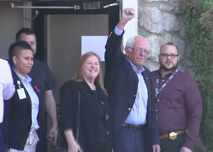 Bernie Sanders released from hospital, doctors say he suffered heart attack