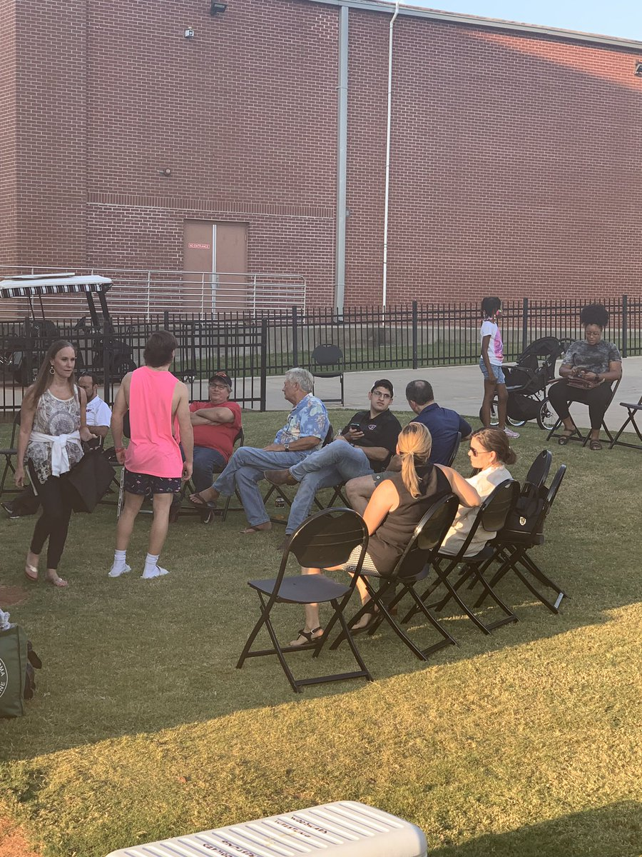 Great to see wrestlers and parents enjoying themselves at our #CircleW tailgate! #WAPRIDE