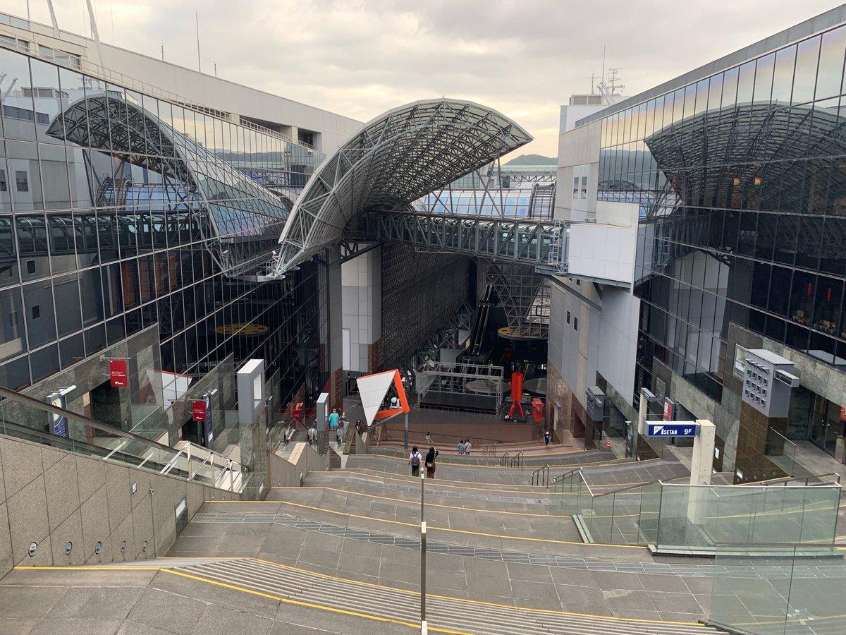 京都駅 大階段(3)