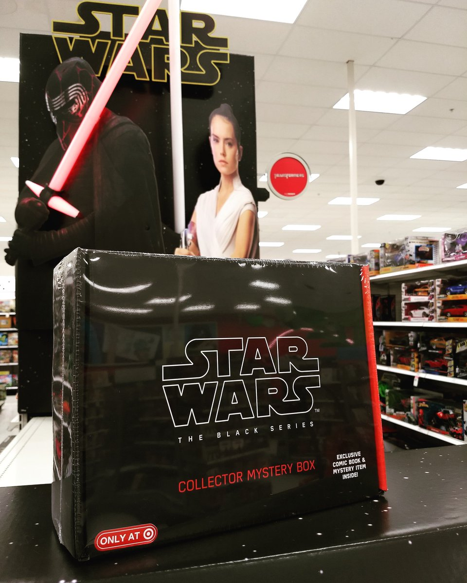 Star Wars The Black Series Collector Box Exclusive New, Sealed