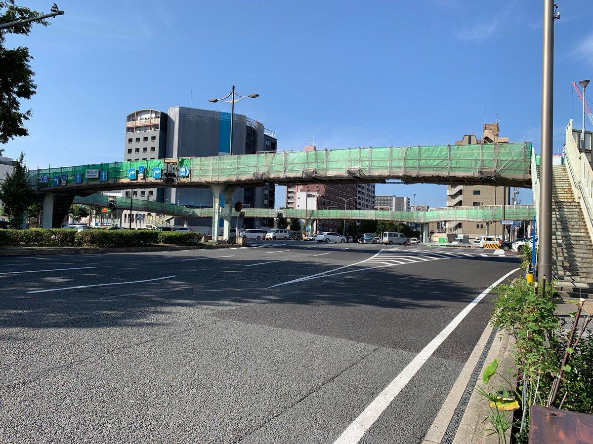 堀川五条交差点歩道橋(2)