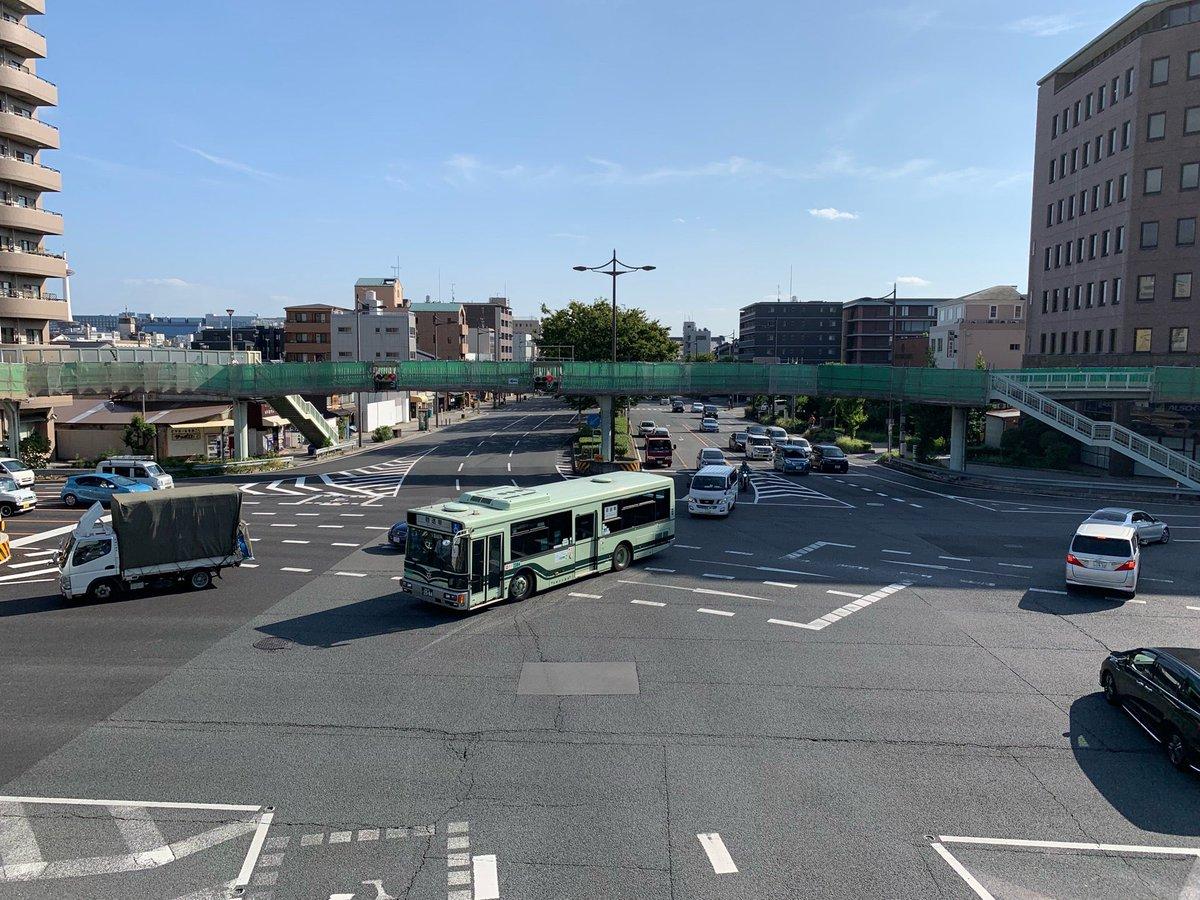 堀川五条交差点歩道橋(1)