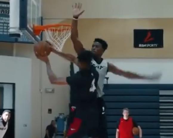 【影片】恐怖彈速!Butler訓練中2次升空封蓋新秀上籃