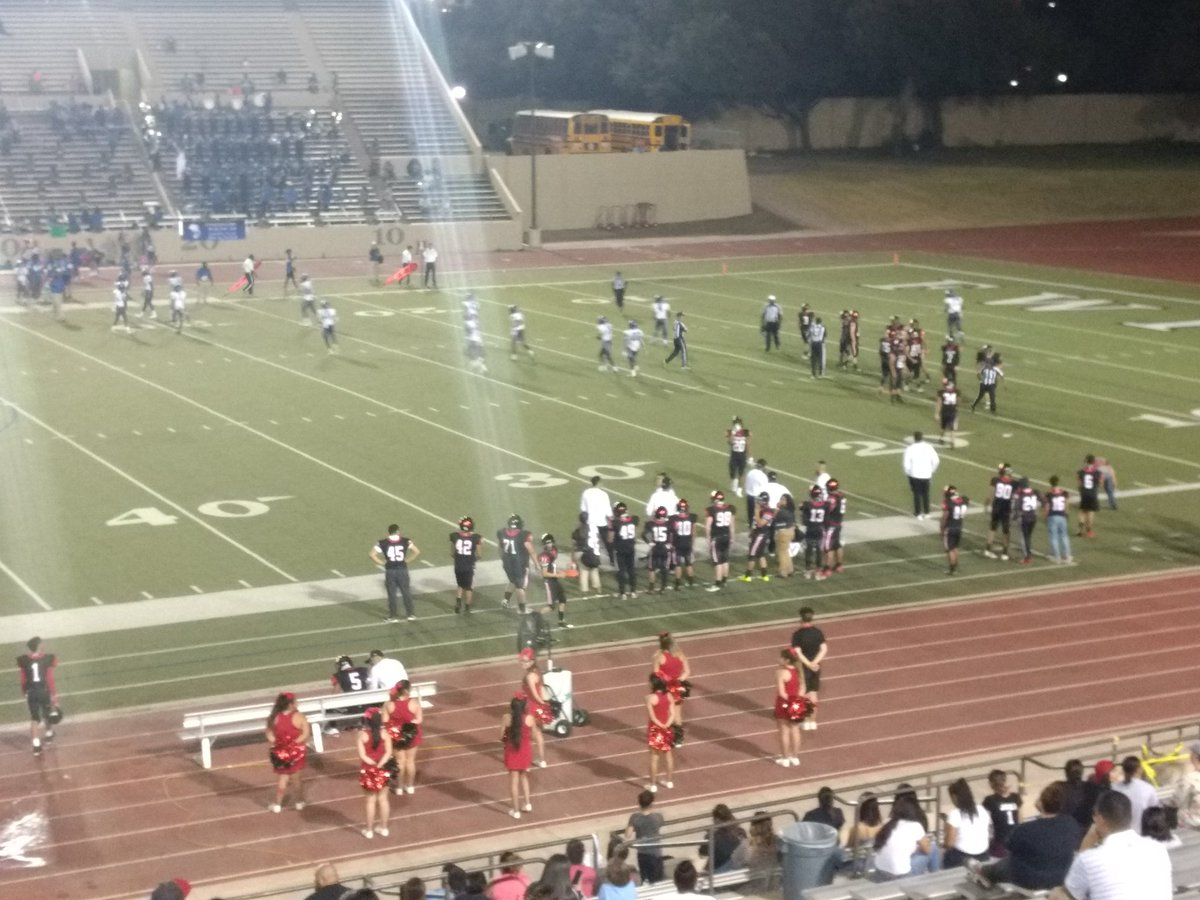 Diamond Hill Jarvis hosting Dunbar at Farrington Field in Fort Worth. Friday night Texas high school football.