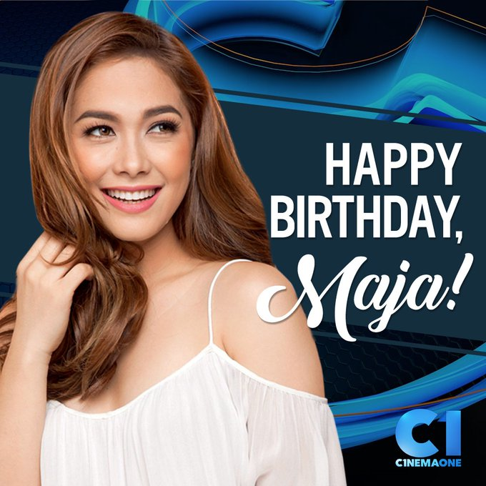 Happy birthday, Maja Salvador (  From