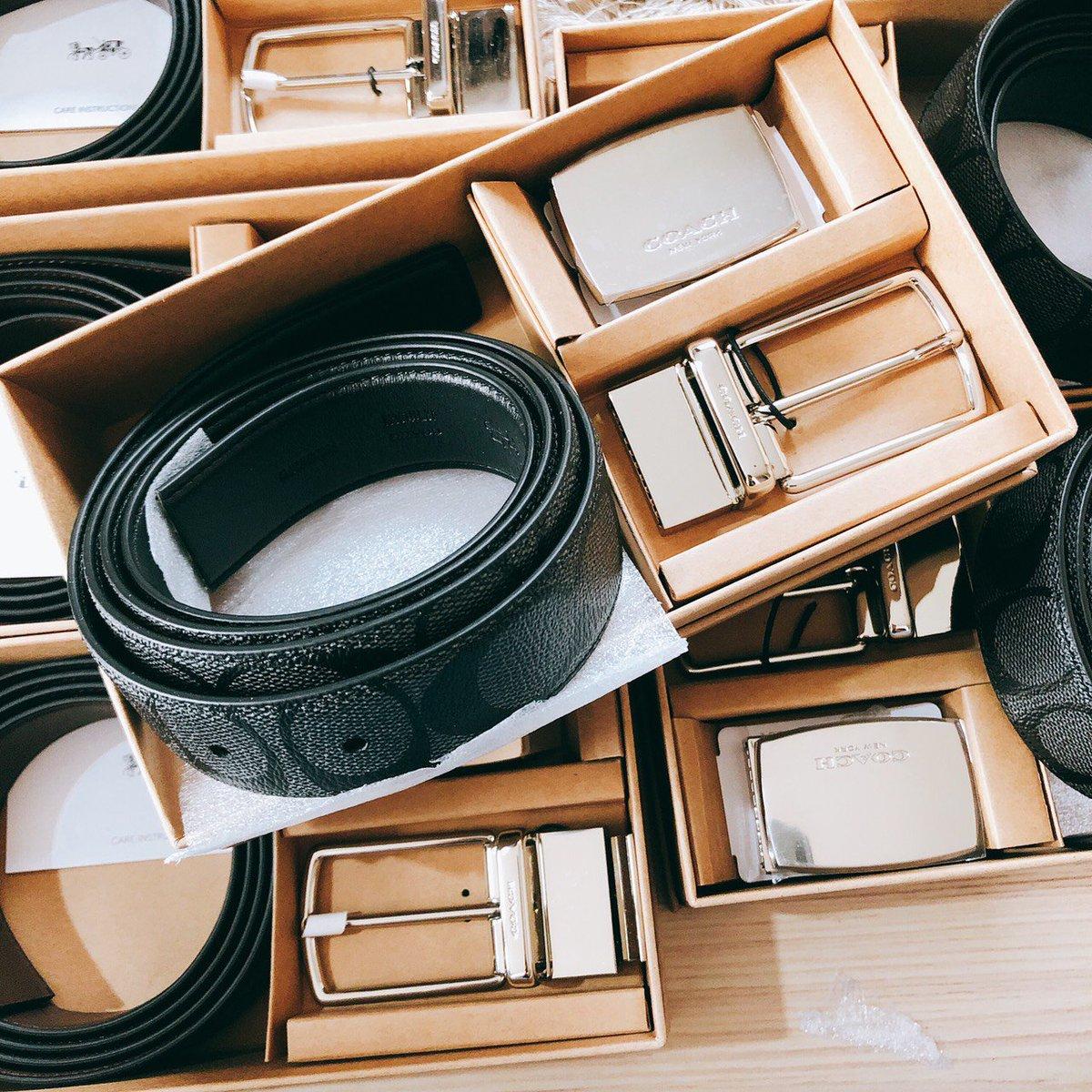 Coach belt set 2990❤#cosmeticsthailand #preorderusa #HowtoPerfect#พรีออเดอร์usa #กระเป๋าแบรนด์เนมแท้ #กระเป๋าcoach #coachthailand  #นาฬิกาแบรนด์เนมแท้ #HowtoBeauty #กระเป๋าพร้อมส่ง #brandnamethailand #ตลาดนัดสวนแครอท