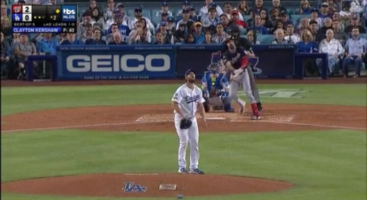 Its not October until Kershaw gives up runs in the postseason