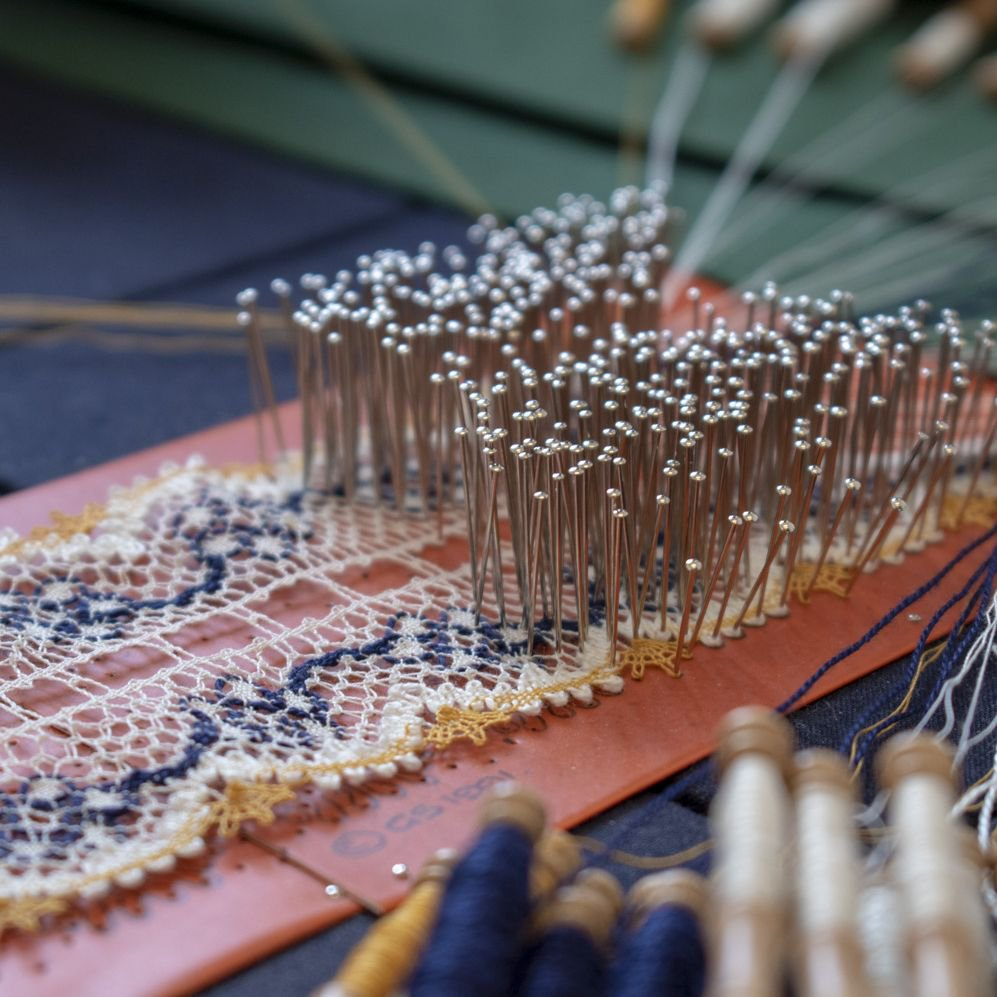 This time next week, the Alresford Lacemakers will be back at the Museum for their monthly visit. Come and watch them as they work! 👌