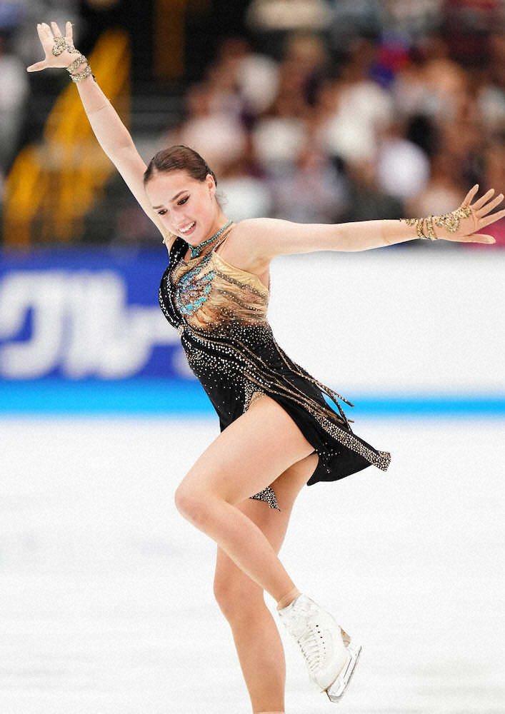 アリーナ・ザギトワ X これからもスケートを楽しんでいきたい