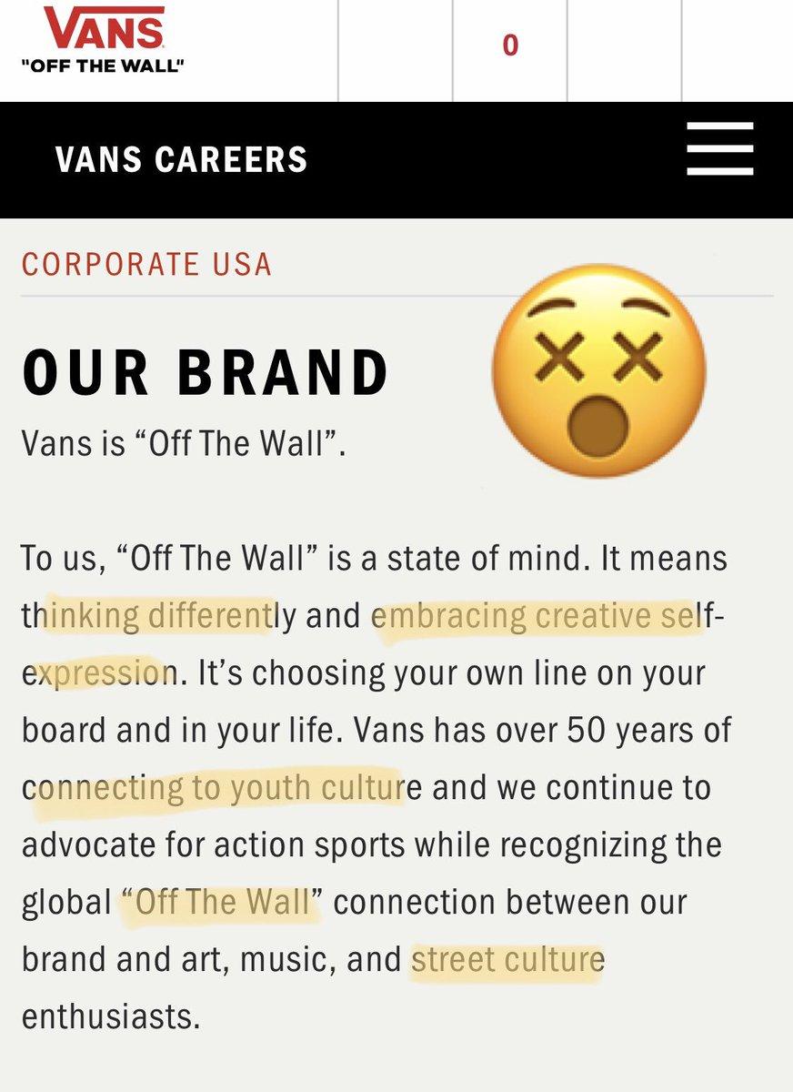 vans careers usa
