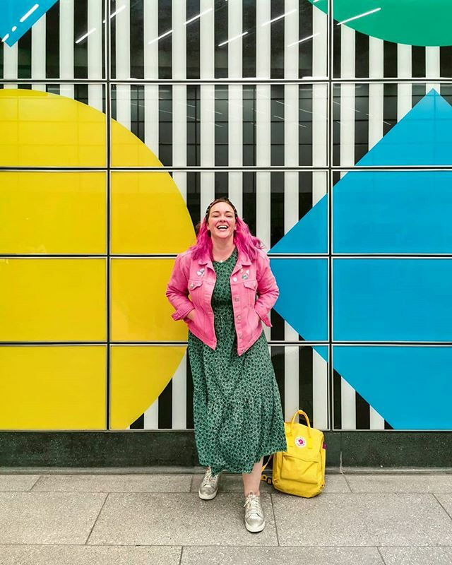 Today's plans include a puppy, a big walk, an art exhibition with a pal, some lunch (I hope), and hopefully no rain. What say you? . . .  @misskatyenglish (birthday gal)  TCR tube station #reallifeandstyle #slowstyling #wearingtoday #midsize… https://ift.tt/2VdVvEe pic.twitter.com/H5hgywvwui