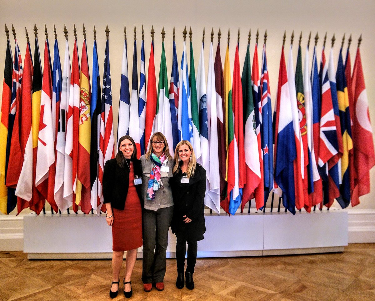Thanks to @OECD_Stat for a few days filled with discussion about policy frameworks, focus on building a #Wellbeingeconomy, fans for the rather cool #WEGo partnership & catch ups with friends. Days like this make me hope that momentum is building. #weall