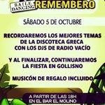 Image for the Tweet beginning: Recuerda esta tarde a partir