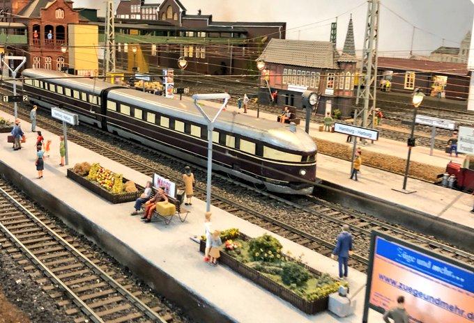 Jubiläum: 70 Jahre MEHEV Modellbahn im Museum für Hambu