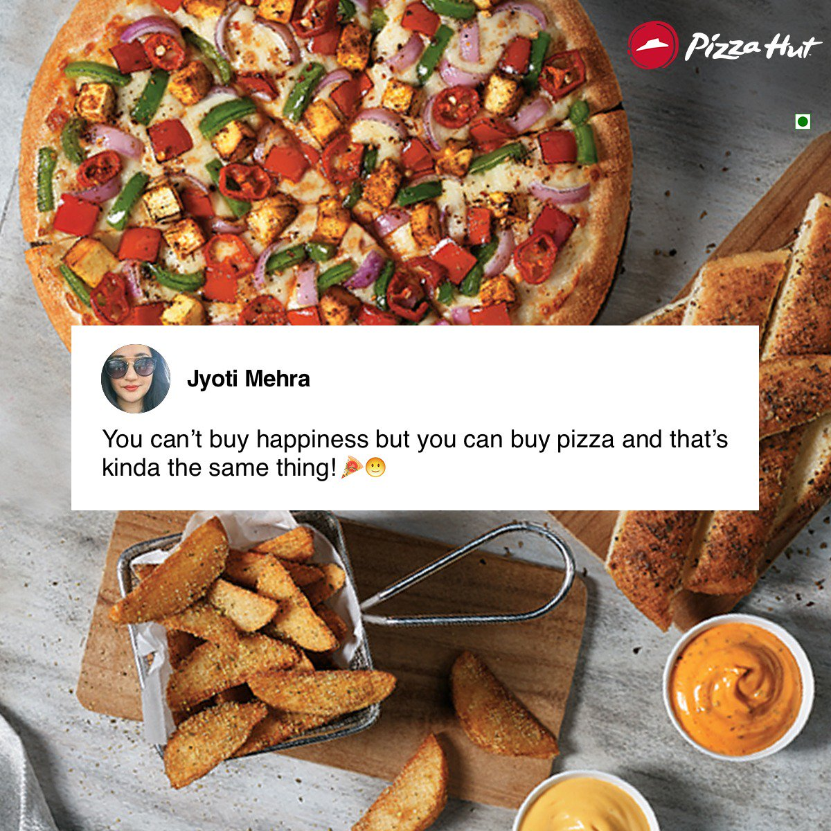 Indeed it is D If you too want to get featured here, just tell us why you love Pizza Hut TastiestPizzasAt99 https t