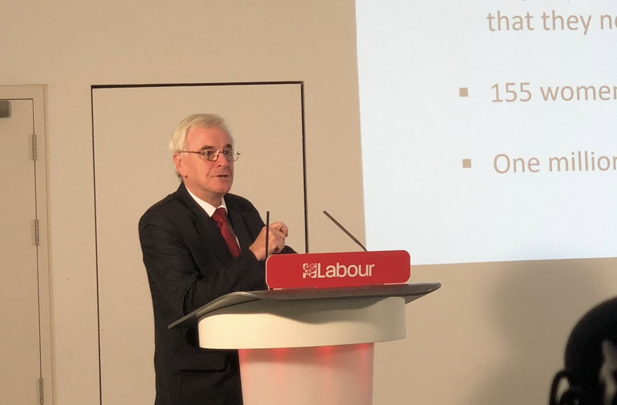 """This is about building our manifesto from the grassroots upwards. Let's get to work!"" - @johnmcdonnellMP #ByTheMany"