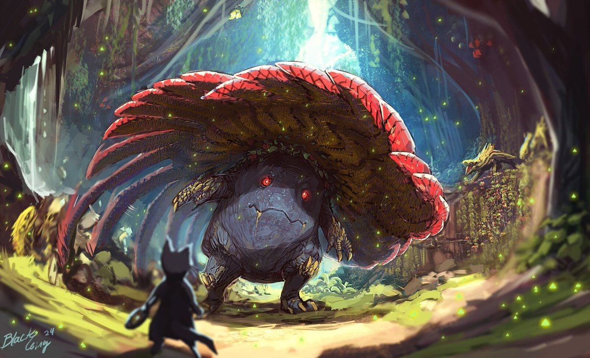 if monster hunter and Pokemon mixed