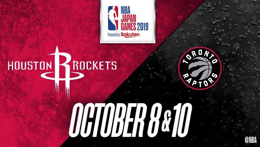 Alright, here we go! Off to Tokyo Japan for the #NBAJapanGames2019 featuring the 2019 NBA Champion @Raptors !! Looking forward to bringing #WeTheNorth with the @NorthSideCrewTO @NBA