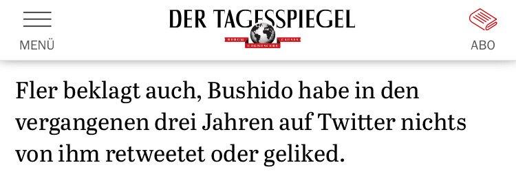 Bildergebnis für fler beklagt sich bushido retweet