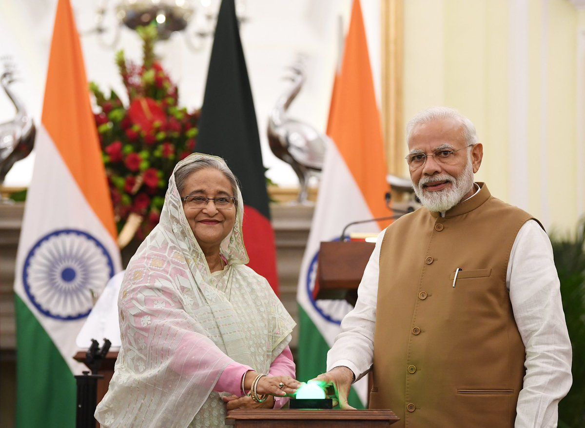 A win-win for India and Bangladesh! The supply of LPG through Bangladesh, to Tripura, using Bangladeshi trucks ensures: Reliable gas support at lower transportation costs for India. Employment generation in Bangladesh.