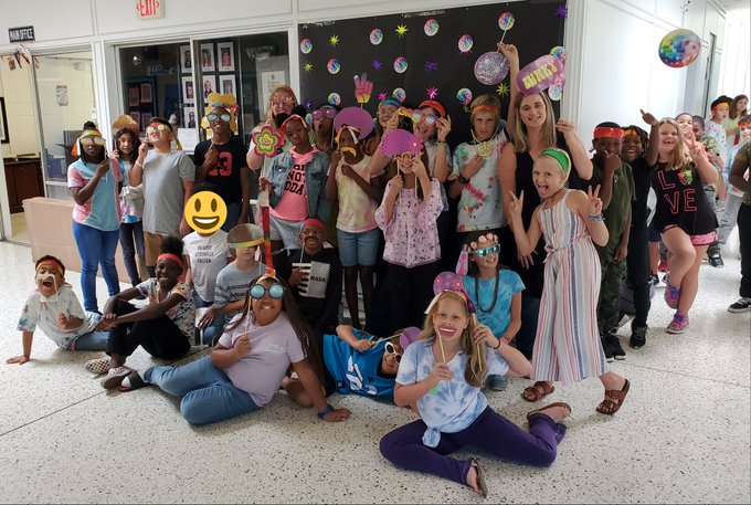 Happy Birthday Our 5th graders had such a groovy time celebrating you with 70s day!