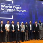 Image for the Tweet beginning: World Data Science Forum.  Organized by