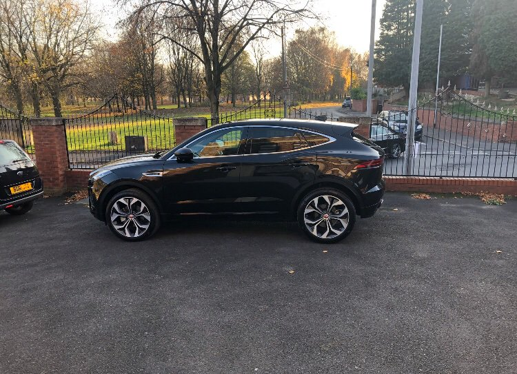 Last night 2 vile guys, broke into my house while I was asleep, stole my keys and my car from Prestwich (MANCHESTER). It's a black jaguar E pace- MT68 PKC PLEASE SHARE AND MESSAGE ME IF YOU'VE SEEN IT😢