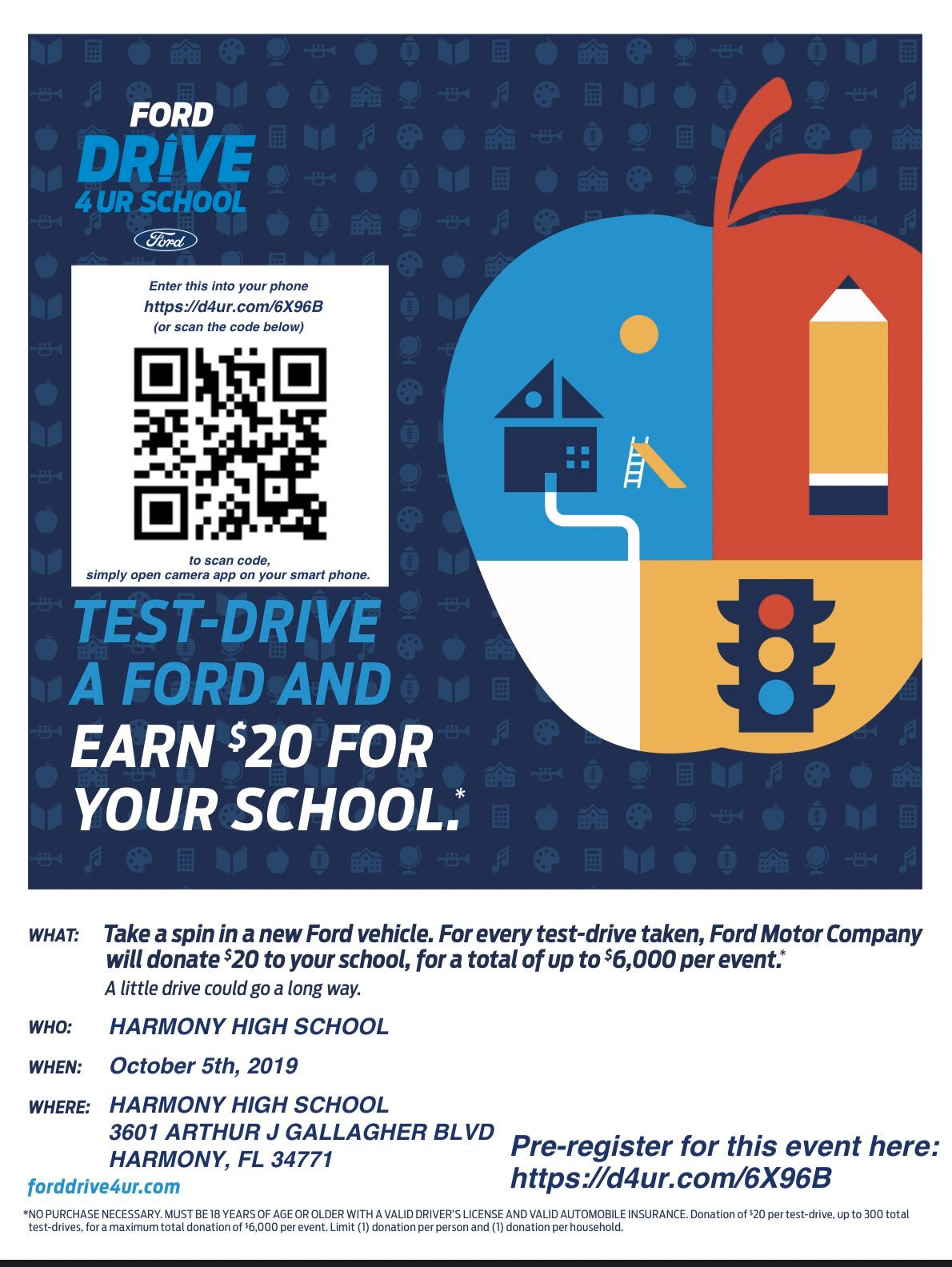 kisselback ford on twitter come out to harmonyhighfl today and test drive a brand new ford to help raise money for harmony high athletic programs https t co uvjr6q5zax twitter