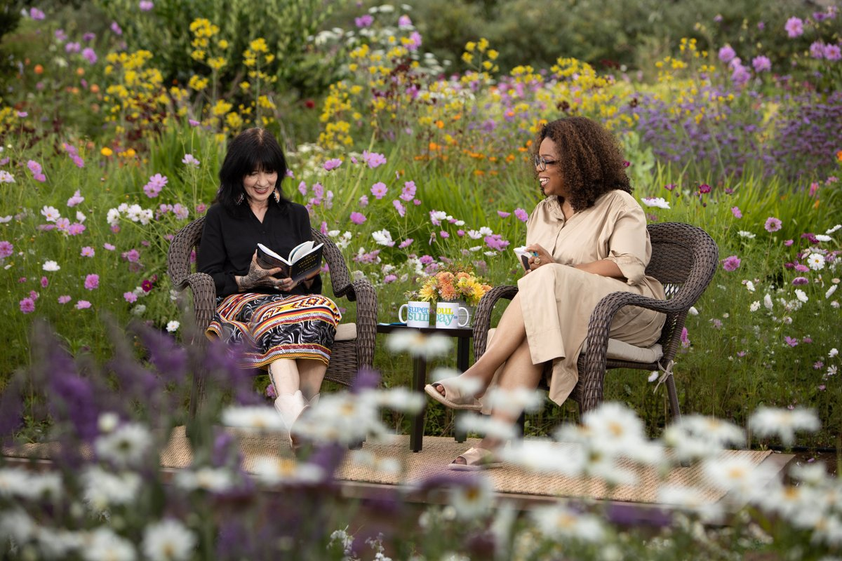 Dont miss Poet Laureate Joy Harjo on @SuperSoulSunday this weekend. @Oprah Winfrey talks with her about life, poetry and her new role as the nations poet laureate. Watch Sunday on @OWNTV streaming on Facebook, & listen next week on the podcast. facebook.com/SuperSoulSunday