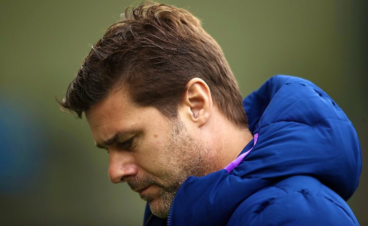 "Tottenham Hotspur boss Mauricio Pochettino:""I hope that all the pressure is coming to me, and let the players be free to recover"".Despite the fact of the players not even fighting for him, he still protects them.Some of them do not deserve him as their manager.#THFC #COYS"