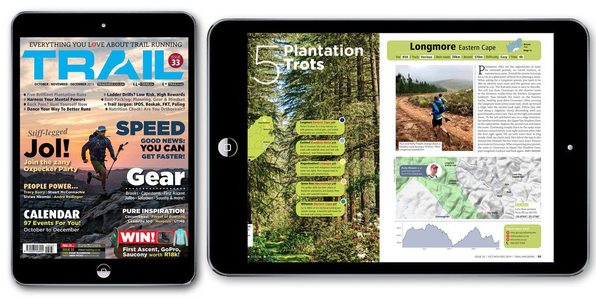 Avoid the queues, and keep your favourite #trailrunning #magazine with you wherever you go! 📲 Get new issue #TRAIL33 from Amazon, App Store, Google Play, Magzter, and Zinio. https://t.co/hhsHSpIWsk #TRAILmag #digital https://t.co/kE9A3uyV1n