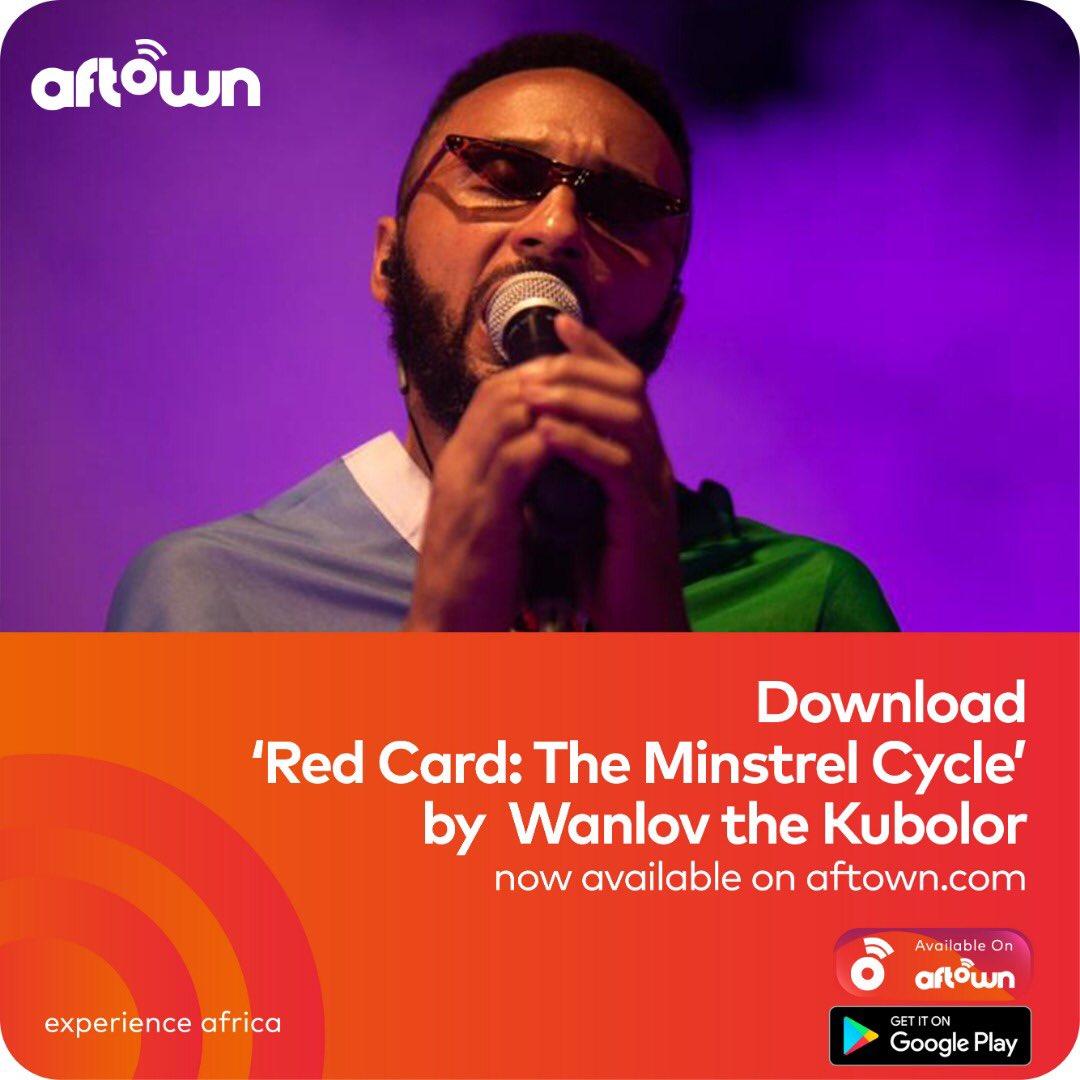 Soak in @wanlov 's latest album #RedCard (The Minstrel Cycle) on aftown! Purchase/Stream via the #aftownapp ! •| https://t.co/dtKEMUi2Vj 📸 : @Onefotosgh https://t.co/X8hOLkuWu5