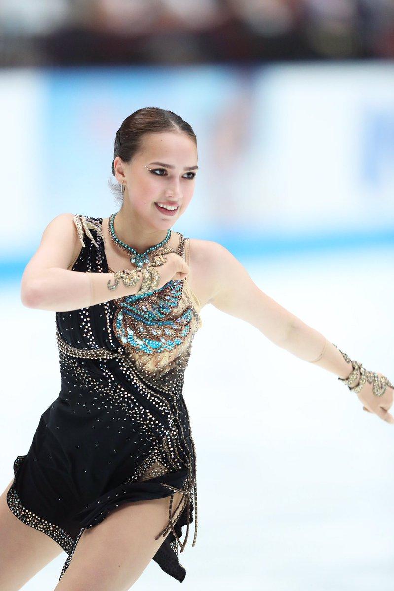 ジャパンオープン2019 アリーナ・ザギトワ の演技に注目が集まる